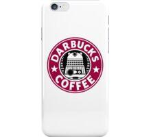Darbucks Coffee RED iPhone Case/Skin