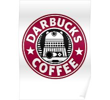 Darbucks Coffee RED Poster