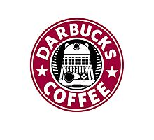 Darbucks Coffee RED Photographic Print