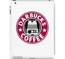 Darbucks Coffee RED iPad Case/Skin