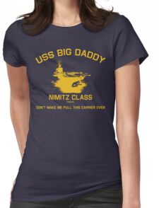 USS BIG DADDY-1 Womens Fitted T-Shirt