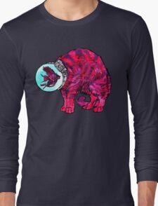CATFISHTRONAUT (magenta) Long Sleeve T-Shirt