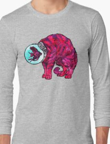 CATFISHTRONAUT (magenta) Long Sleeve T-Shirt