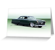 1954 Ford Customliner Coupe Greeting Card