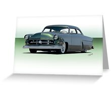 1954 Ford Customliner Coupe II Greeting Card