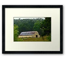 The Yellow Barn Framed Print