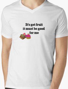 Cake is good Mens V-Neck T-Shirt