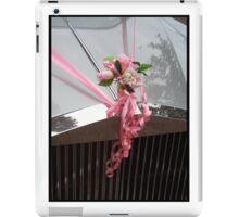 Wedding flowers and car iPad Case/Skin