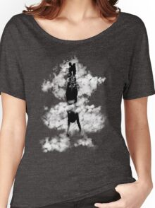 Free style down from the sky... Women's Relaxed Fit T-Shirt