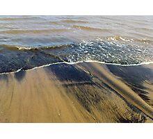 Black sand Photographic Print