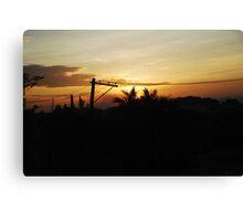 San Fernando Sunset Canvas Print