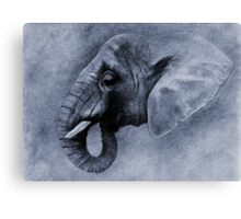 L' ELEPHANT I Canvas Print