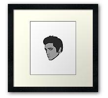 THE KING OF ROCK N ROLL Framed Print