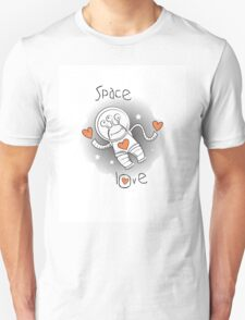 Space love. Unisex T-Shirt