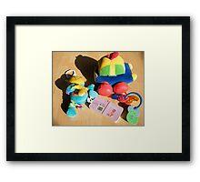 Toys! Framed Print