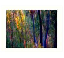 Faeries in the Forest Art Print