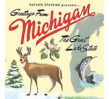 Sufjan Stevens- Greetings from Michigan Photographic Print