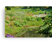 Great Gardens Of Cornwall Canvas Print