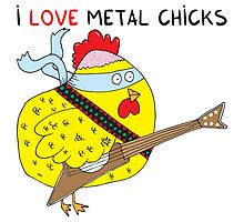 I love metal chicks by Adrian Serghie