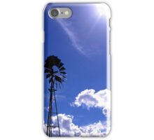 The sun and the wind iPhone Case/Skin