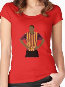 Omar Daley Women's Fitted Scoop T-Shirt