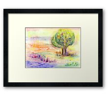 Landscape of Dreams Framed Print