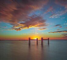 Wynnum Dawning - Wynnum Qld Australia by Beth  Wode