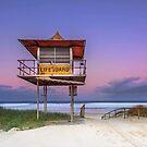 Sandy Sundown - Gold Coast Qld Australia by Beth  Wode