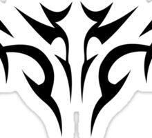 Gansta - Nicolas Wing (Black) Sticker