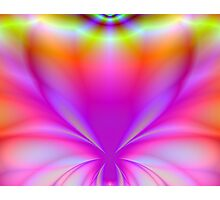 Butterfly Fractal 2 Photographic Print