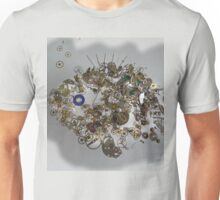 Steam Punk Fish -Exploded Watch Parts Unisex T-Shirt
