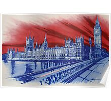 Westminster Palace Poster