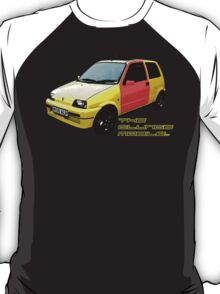 The Clungemobile - The Inbetweeners [Single Print With Text] T-Shirt