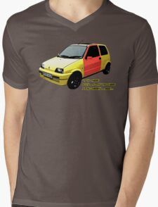 The Clungemobile - The Inbetweeners [Single Print With Text] Mens V-Neck T-Shirt