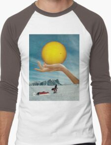 Sunspot Men's Baseball ¾ T-Shirt
