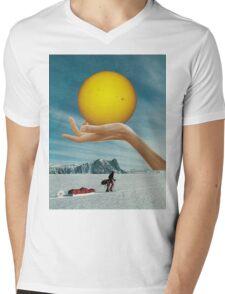 Sunspot Mens V-Neck T-Shirt