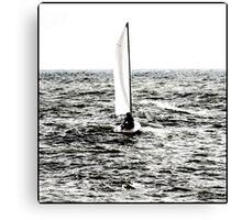 Sail away, sail away, sail away Canvas Print