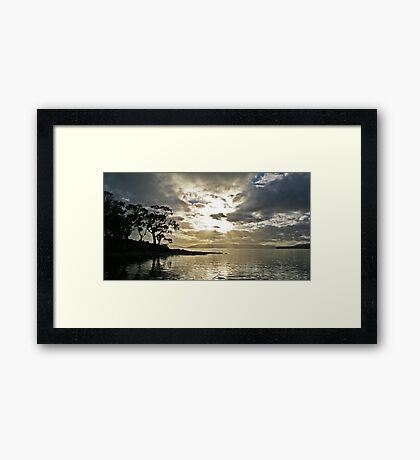 Saltwater River Framed Print
