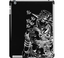 Jojo - Gyro Zeppeli (White) iPad Case/Skin