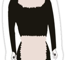 Character of a Gothic Maid Sticker