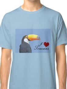 I love toucans blue Classic T-Shirt