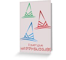 Happy endings Greeting Card
