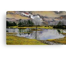 Fantasy dream world lake Canvas Print