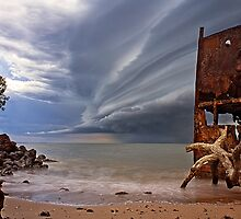 The storm and the wreck by Matt Duncan