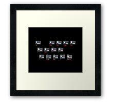ZX Spectrum - I Love Dead Flesh Framed Print