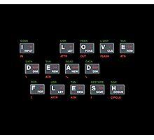 ZX Spectrum - I Love Dead Flesh Photographic Print