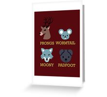 Puppyrauders Greeting Card