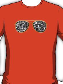 Retro Glasses - Star Wars - Kill Bill - Movies T-Shirt