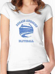 Besaid Aurochs Blitzball Women's Fitted Scoop T-Shirt