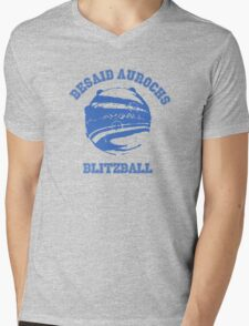 Besaid Aurochs Blitzball Mens V-Neck T-Shirt